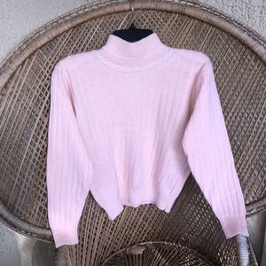 🌸Vintage 90's Baby Pink Sweater